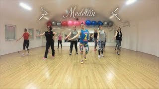 "Madonna & Maluma   ""Medellín"" (Cool Down) Zumba Fitness Choreography"