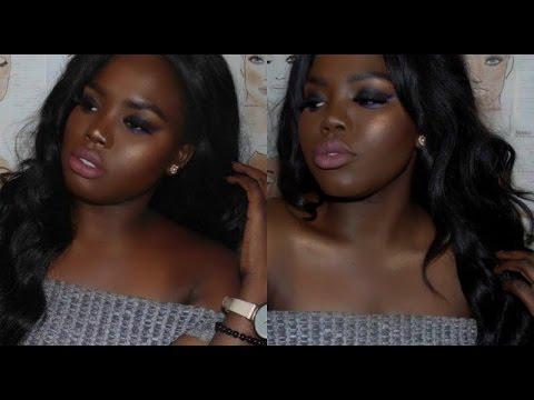 Smoky eye & Hair Tutorial | Darkskin | Destiny Matuet
