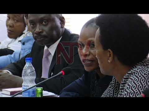 Lucy Nakyobe presents 677 billion budget