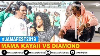 VIDEO: Mama Kayai ataka kukutana uso kwa uso na Diamond