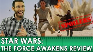Star Wars: The Force Awakens - Movie Review [SPOILERS] (Belated Media)