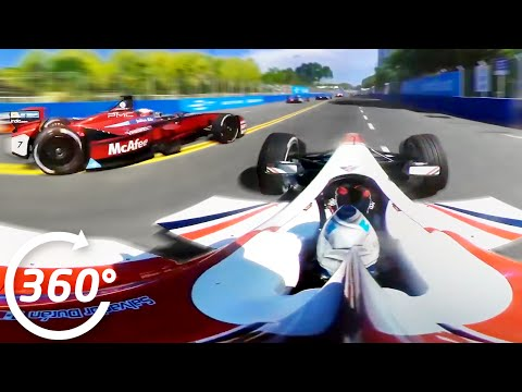 Formula E Is Even More Captivating In 360 Degrees