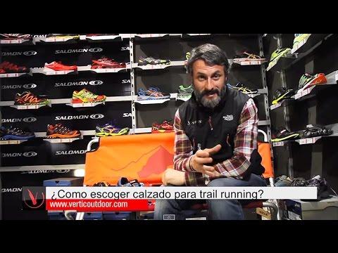 ¿Cómo escoger un calzado de Trailrunning?