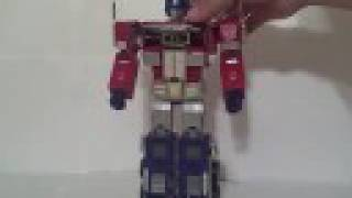 Transformers Masterpiece Optimus Prime MP-4 Mp-04 with Trailer