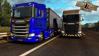 Personalizando a Nova Scania Ficou Muito Linda Feat Crazy Gamer - Euro Truck Simulator 2 1080p