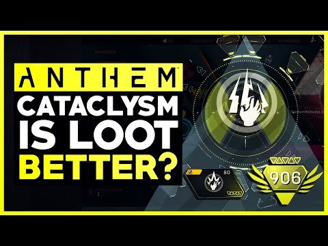Anthem Cataclysm Loot Finally Starting To Look Better....My Experience So Far (Anthem Loot Update)