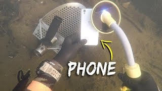 Metal Detecting Underwater for Lost Jewelry and Money! (Scuba Diving) | DALLMYD - Video Youtube