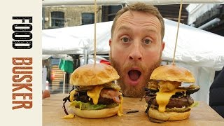 Ultimate Cheeseburger With Wagyu Beef   Food Busker