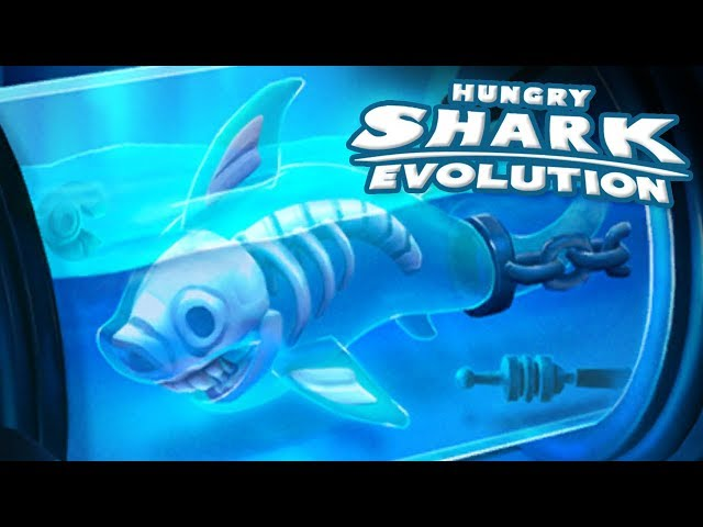 GHOST SHARK UNLOCKED!! || Hungry Shark Evolution - Ep 32 HD