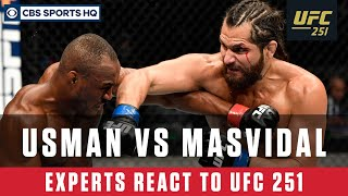 UFC 251 Highlights & Reaction: Usman defeats Masvidal to retain welterweight title | CBS Sports HQ