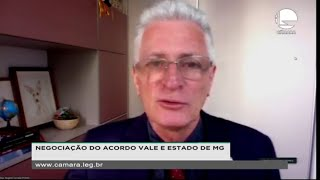NEGOCIAÇÃO DO ACORDO VALE E ESTADO DE MG - Reunião técnica sobre os trabalhos a serem desenvolvidos pela Comissão - 25/11/2020 15:00