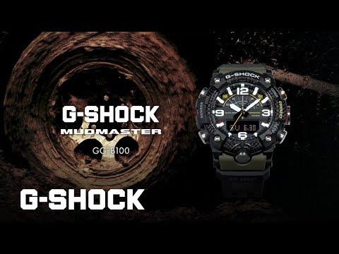 G-Shock GG-B100-1A3ER (Digitaluhr, Analoguhr, Sportuhr, Hybrid Uhr, 55.40mm)