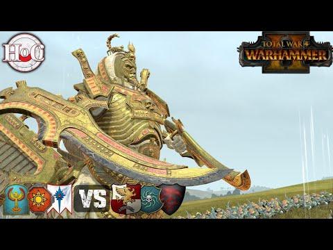 EPIC ARTILLERY - Total War Warhammer 2 - Online Battle 407
