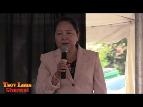 Niam Boua Za Xiong Hais Kwv Txhiaj At Hmong Wausau Festival July, 2017