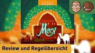 Merv – Brettspiel – Review und Regelübersicht