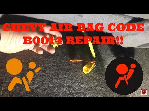 Chevy air bag code B0014 repair - смотреть онлайн на Hah Life