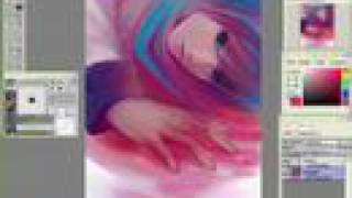Digital Art Process - VOCALOID KAITO