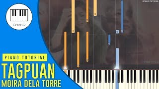 Moira Dela Torre   Tagpuan (Piano Tutorial Synthesia)