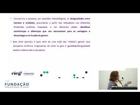 Apresentação do estudo «Igualdade de género ao longo da vida»