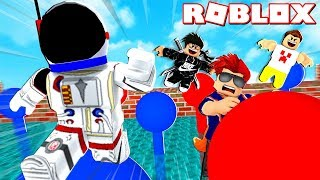 FUNNIEST PARKOUR TOURNAMENT EVER!!   ROBLOX WIPEOUT