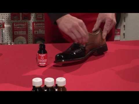 Schuhe färben - Anleitung zur Schuhreparatur Umfärben von Leder - dye shoes - color change leather