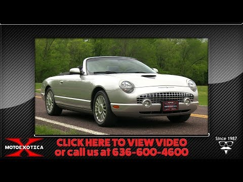 Video of '05 Ford Thunderbird - $26,900.00 Offered by MotoeXotica Classic Cars - Q2FN