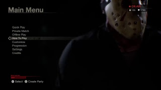 PLAYING FRIDAY 13TH FOR THE 1ST TIME