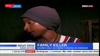 Man kills wife, three children and sets himself ablaze in Thika