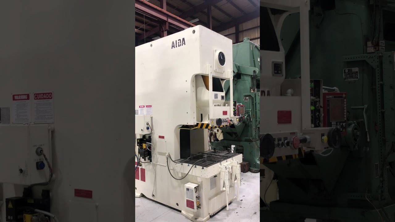 150 Ton AIDA NC1-150(2) Gap Press, New 1998