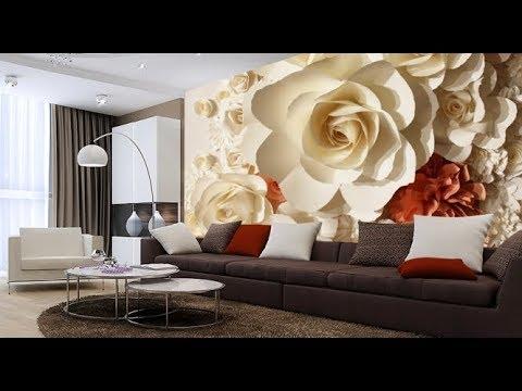 Фотообои в Интерьере Гостиной - 2018 / Photo wallpapers in the interior of the living room