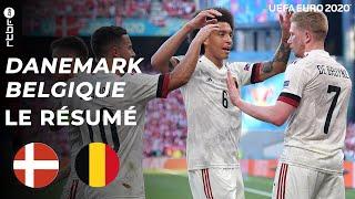 Danemark-Belgique (1-2)   Euro 2020