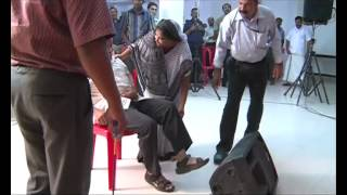 JESUS VOICE Testimony-A man walking after 12 years.Jesus is Alive