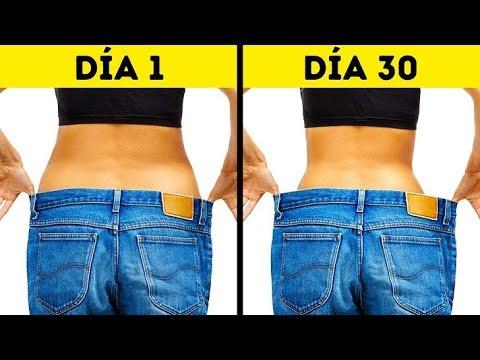Los ejercicios para la quema de la grasa en el cinturón