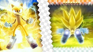 Sonic 06 Remastered (P-06) ✪ Super Sonic (Rainbow Gem)