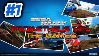 SEGA RALLY GAMEPLAY #1 CAMPEONATO