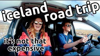 the cheapest iceland road trip | budget supermarket & car hire prices | vlog 1