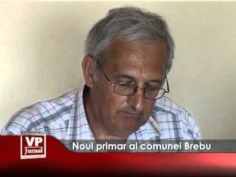 Noul primar al comunei Brebu