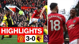 Enjoy the best of the action from Old Trafford as goals from Bruno Fernandes, Anthony Martial and Mason Greenwood saw the Reds enjoy a 3-0 win over Watford at Old Trafford.  Subscribe to Manchester United on YouTube at http://bit.ly/ManU_YT Visit Manchester United at http://www.manutd.com Like Manchester United on Facebook at http://www.facebook.com/manchesterunited Follow Manchester United on Twitter at http://www.twitter.com/ManUtd Follow Manchester on Instagram at http://www.instagram.com/manchesterunited Subscribe to MUTV at https://bit.ly/2L9ymRs