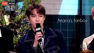 NCT's Doyoung (Being Ariana Grande Fanboy)