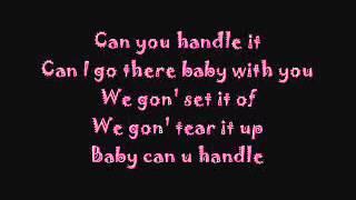 Usher Can U Handle It With Lyrics
