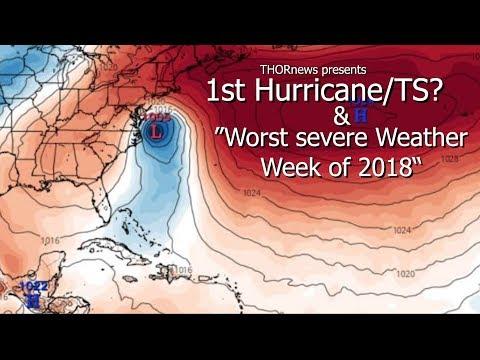 1st Hurricane/TS? & the