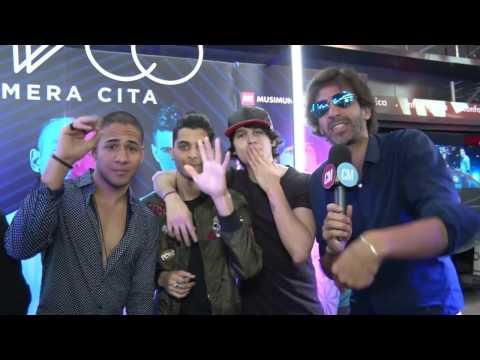 Cnco video Firma de discos - Argentina - Marzo 2017