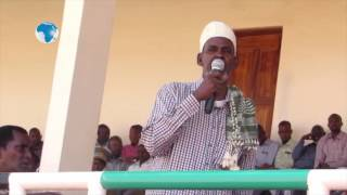 Mandera leaders fault govt over border wall - VIDEO
