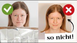 Farbtyp TEST - In 2 einfachen Schritten Farbtyp bestimmen + Graue Haare? | Das weiße Reh