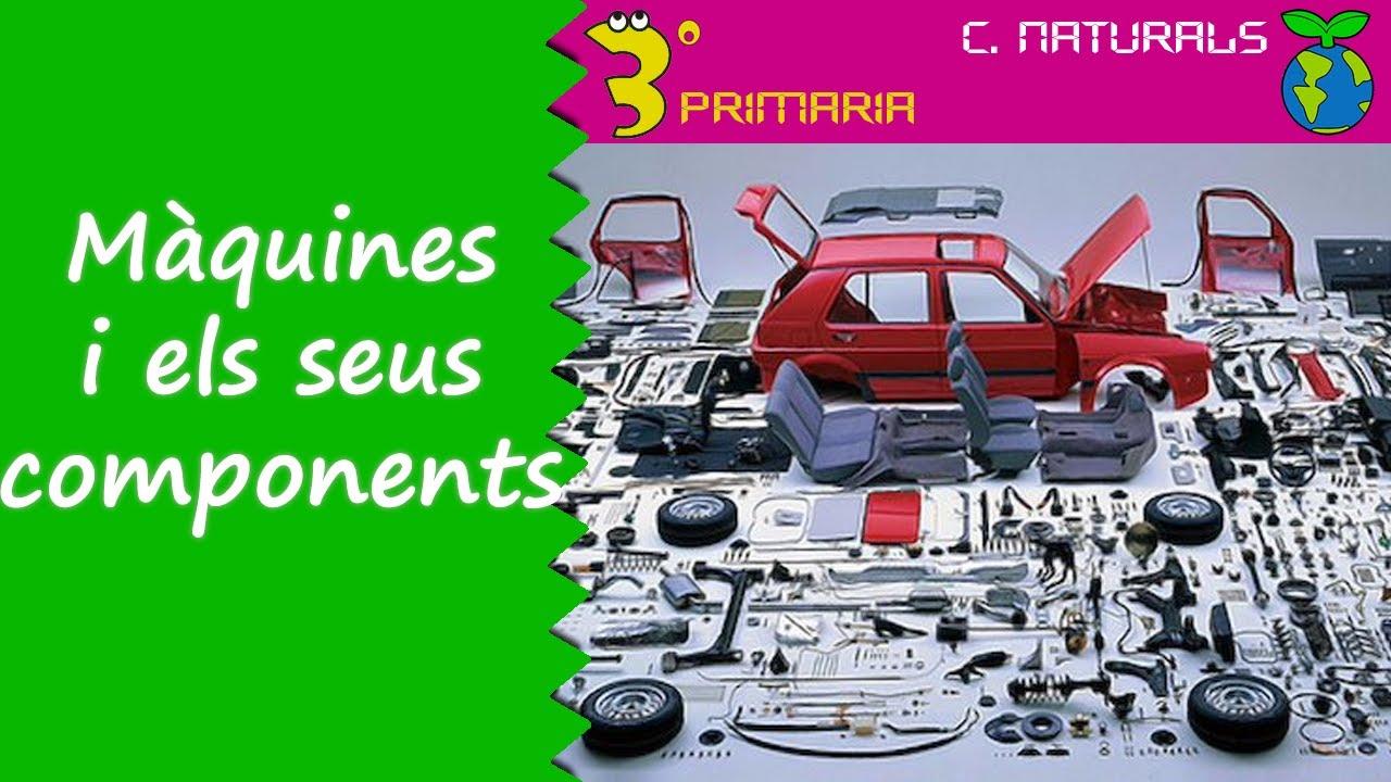 Ciències de la Naturalesa. 3r Primària. Tema 8. Les màquines i els seus components