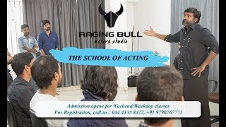 Cinematic Acting Classes in Chennai