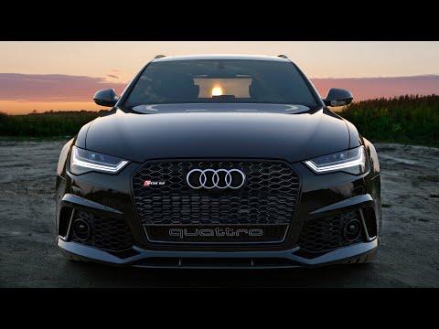 Audi  RS6 Avant Универсал класса A - рекламное видео 1