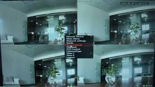 TC-703NVR-4E POE Security Camera System Configuration Video