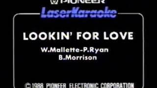 Looking For Love, Johnny Lee, Karaoke Video