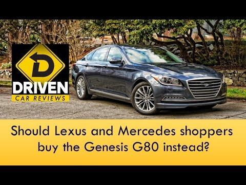 2017 Genesis G80 Ultimate AWD Car Review